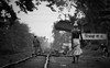 We need a change . (sufihalua) Tags: station railline poor shirtless cycle bw hotandhumid moody trees