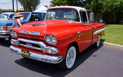 050618 33rd Annual Antique Truck Show 072 (SoCalCarCulture - Over 44 Million Views) Tags: socalcarculture socalcarculturecom show sal18250 car california perris aths antique truck orange empire railway museum dave lindsay