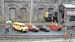Franwood TMD. (ManOfYorkshire) Tags: class40 diesel scale model railway 176 oogauge franwood franwoodtmd york show 2018 1970s era depot shed westmidlands area