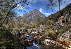 In the mountain land. (lawrencecornell25) Tags: landscape scenery scotland scottishhighlands highlands stobdearg buachailleetivemor glenetive nature outdoors countryside mountain river rivercoupall nikond850