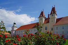 Rosengarten im Stift Vorau (Mariandl48) Tags: stiftvorau steiermark austria rosen