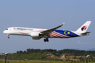 9M-MAC A359 MALAYSIA AIRLINES WMKK