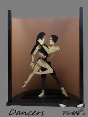 Les Danseurs 1 (icare_25) Tags: lego dance moc