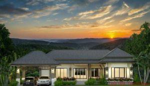 Thailand, Hua Hin: Neues Pool-Villen Projekt inmitten der Hügel Hua Hin´s  nur 4 km von der City