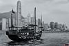 Kong (www.eiderphoto.com) Tags: hongkong boat cruise blackwhite eiderphoto lanscape sea world