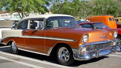 1956 Chevrolet Bel Air 2-Door Sedan (Pat Durkin OC) Tags: 1956chevrolet belair 2door sedan post