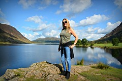 The Sensual World (plot19) Tags: sandy family love crummock water plot19 photography portrait landscape clouds nikon north northern northwest lakedistrict lake lakes woman happy england english uk britain british