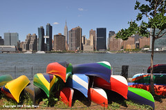Convene (Trish Mayo) Tags: art artinstallation queens publicart convene nycparks xaviersimmons sculpture eastriver
