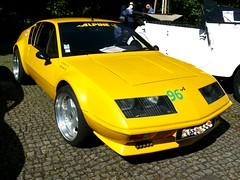 Alpine A 310 V 6  Baujahre 1976-1980 (ludmillafan132) Tags: alpine alpinea310 a310 oldtimer youngtimer beautifuloldtimer auto autos car cars fahrzeuge sportwagen fahrzeug automobile oldtimertreffen gelb yellow boliden sportboliden kraftfahrzeug kraftfahrzeuge automobilausstellung