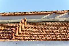 Comignoli (velenux) Tags: rooftop chimney tiles warm colors summer