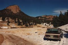 Building site for sale (twm1340) Tags: 1978 jeep cherokee cherokees 4x4 wagoneer park county co colorado alma