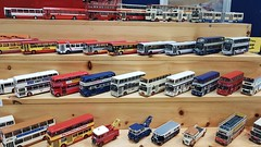 South Yorkshire Model Buses Old & New on Display at South Yorkshire Transport Museum Model Road Transport Day. (ManOfYorkshire) Tags: mainline first group rotherham sheffield doncaster bus buses display onshow exhibit mrmallard southyorkshire transport museum openday modelroadtransport scale model oogauge 176 selection collection hobby prized breakdown sheafline yorkshiretraction sheffieldcitytransport recovery vehicles wrightgemini leylandatlantean fleetline eastlancs dominator roe