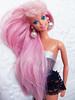 Fountain Mermaid Barbie (Chari Kloi) Tags: mermaid mermaidbarbie barbie pinkhair pearl pink doll mattel dollfashion retrodoll