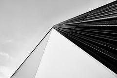 Karlsruhe Musikhochschule b&w 5 (rainerneumann831) Tags: karlsruhe schlossgottesaue architektur bw blackwhite blackandwhite ©rainerneumann linien wolfgangrihmforum