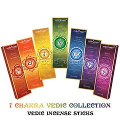 Seven Chakra Incense Sticks | VedicVaani.com (vedicvaani.com) Tags: incense sticks masala collections chakras seven agarbatti online india usa uk worldwide affordable rates fragrance