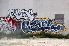 RESN8, CZILLY (STILSAYN) Tags: graffiti east bay area oakland california 2018