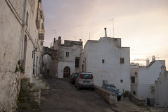 Ostuni, Brindisi, Italy (Tokil) Tags: ostuni brindisi italia italy southitaly salento oldtown centercity ancient village country alley street urban travel sunset sunlight colors atmosphere nikond90