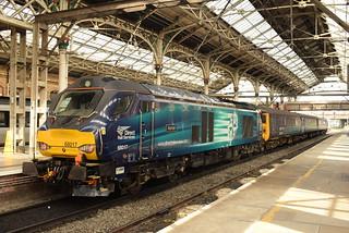 DRS 68017 @ Preston train station