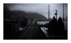 Alma Power.  Explored.  05-06-2017. (-Metal-M1KE-) Tags: alma wisconsin usa bnsf graintrain mississippi river almawisconsin railroad