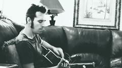 more rehearsal (maj488/mike) Tags: tour rehearse rehearsal pinehillhaints jamie gibsonguitars guitar