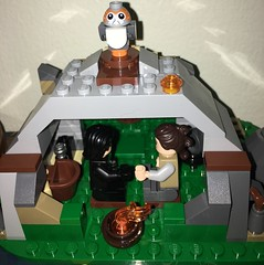 Stop! (wookiee_jedi) Tags: reylo star wars episode 8 rey kylo ren ben solo last jedi lego moc