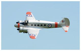 Avro C19 Anson its new livery