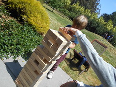 DSCN1272 (classroomcamera) Tags: jenga home homes house houses backyard backyards yard yards grass grassy grasses green bush bushes plant plants wood wooden child children hair haircut arm arms play plays playing tower towers tall taller tallest short shorter shortest