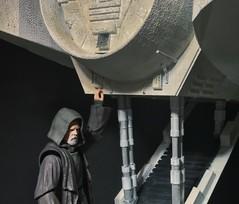Luke sneaks aboard the Falcon (chevy2who) Tags: starwarstoys figure action starwarscustom custom imch 6 figurarts thelastjedi skywalker luke falcon toyphotography toy wars star starwars sh