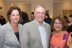 Kelly White, Mayor Terry Tornek & Armida Baylon