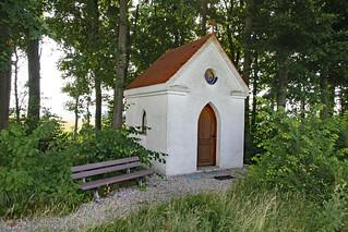 My daily walk . Field chapel -in explore-