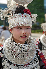 Sisters festival (Robert Lio) Tags: laotun village guizhou china miao minority