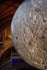 Museum of The Moon (teltone) Tags: moon liverpoolcathedral merseyside lunar spectacle art space beauty awe romance sony rx100m4 moonlight creative spiritual