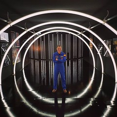 """They call him Duque, Pedro Duque (@astro_duque) Taken at the @ciudadartesciencias last week when their #mars exhibition was opened together with the @europeanspaceagency and @fundaciontef #partnership <a style=""""margin-left:10px; font-size:0.8em;"""" href=""""http://www.flickr.com/photos/56791810@N02/28665704358/"""" target=""""_blank"""">@flickr</a>"""
