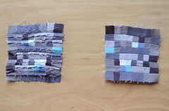 19. Iron seams open, one quadrant done! (osiristhe) Tags: nikond5100 18200mm quilting sewing needlework