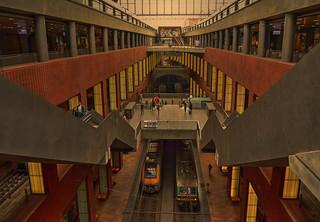 Antwerpen Central station.