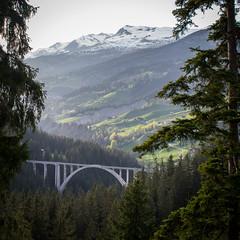 Suisse (solennegau) Tags: suisse voyage trip soleil couleurs paysage montagne lumière light bridge pont nikon d3400 arbre switzerland