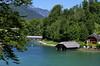 Blick zur Königsseer Ache (didibild) Tags: berchtesgaden bayern deutschland königssee berge wald wasser see alpen boot landschaft