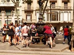 Barcelona Junio 18 (20) (calafellvalo) Tags: barcelona barcino parkgüell gardí gaudi catalonia spain jardines garden calafellvalo antonigaudí eusebigüell muhba hipòstila