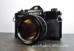 Monster Glass! (www.yashicasailorboy.com) Tags: yashica tomioka f12lens japan 35mm camera tlelectrox its slr