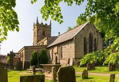 St Lawrence's Church, Eyam (DRWeaver) Tags: summer landscape church nature derbyshire outdoors peakdistrict eyam buildings england unitedkingdom gb