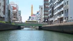 River Cruise (yukky89_yamashita) Tags: 道頓堀川 大阪 大阪市 日本橋 river cruise osaka japan bridge bus