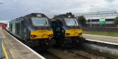 Cat's at Yarmouth (Mike_47714) Tags: drs ga railway train locomotive 2c61 2p59