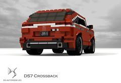 DS Automobiles DS7 Crossback (2018) (lego911) Tags: citroen ds automobiles ds7 crossback cuv crossover 4x4 4wd awd wagon luxury 2018 2010s france french auto car moc model miniland lego lego911 ldd render cad povray