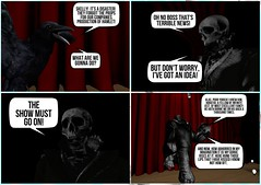 The Cheap Seats (v NaTaS v) Tags: secondlife second sl scene mesh comic funny strip sad cute life kawaii avatars avatar abstract sculpt sfw spooky scary digital dark darkness death depression fantasy girl goth gothic horror halloween lovecraft lights world exotic expression tmp teeth mythology bullshit butt isis illuminati dustbunny beleza anxiety virtual bones poster people work office computer comics reaper couch tv nap fire demon hell dirt grave grass void abyss draw drawing art pencil grim shakespeare