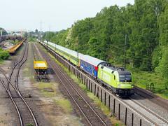 Flixtrain ES64 U2-005 (jvr440) Tags: trein train spoorwegen railroad railways duisburg entenfang flixtrain taurus