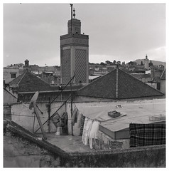 Fes from above (Mark Dries) Tags: markguitarphoto markdries hasselblad500cm fes morocco fp4 r09 125 900 mediumformat film