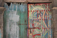 a door to somewhere (M00k) Tags: marokko marrakech old doors wood paint