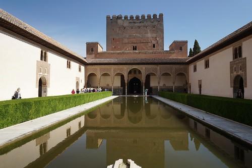 Palace reflecting pool, Alhambra, Granada