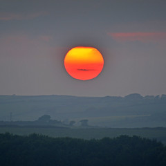 Sunset over South Hams (jamiegaquinn) Tags: sunset devon orange zoomlens salcombe southhams