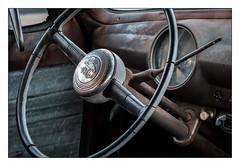Interior (Rick Olsen) Tags: vintage antique steeringwheel interior detail fuji fujifilm xt2 truck ford old